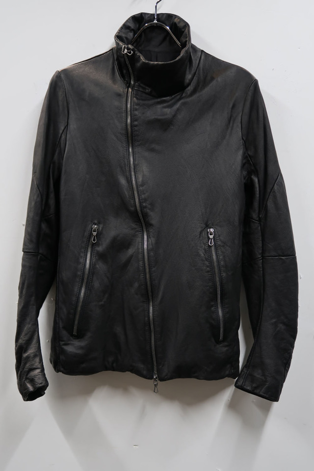 Oiled Cow Leather Blouson #2