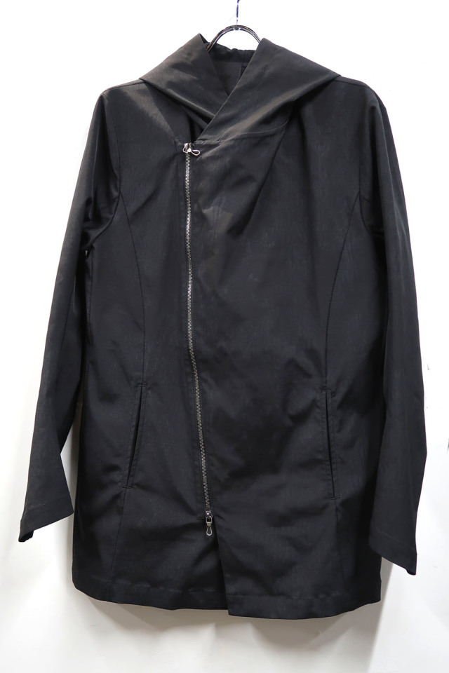 Polyester Twill Hooded Blouson