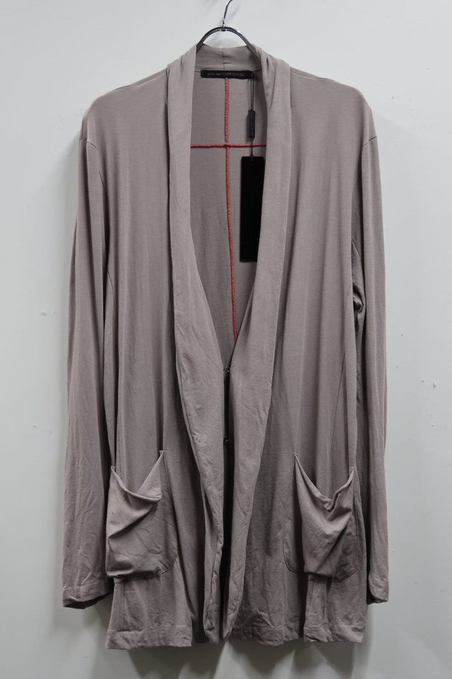Cotton,Rayon Cardigan Jacket Cut&Sew