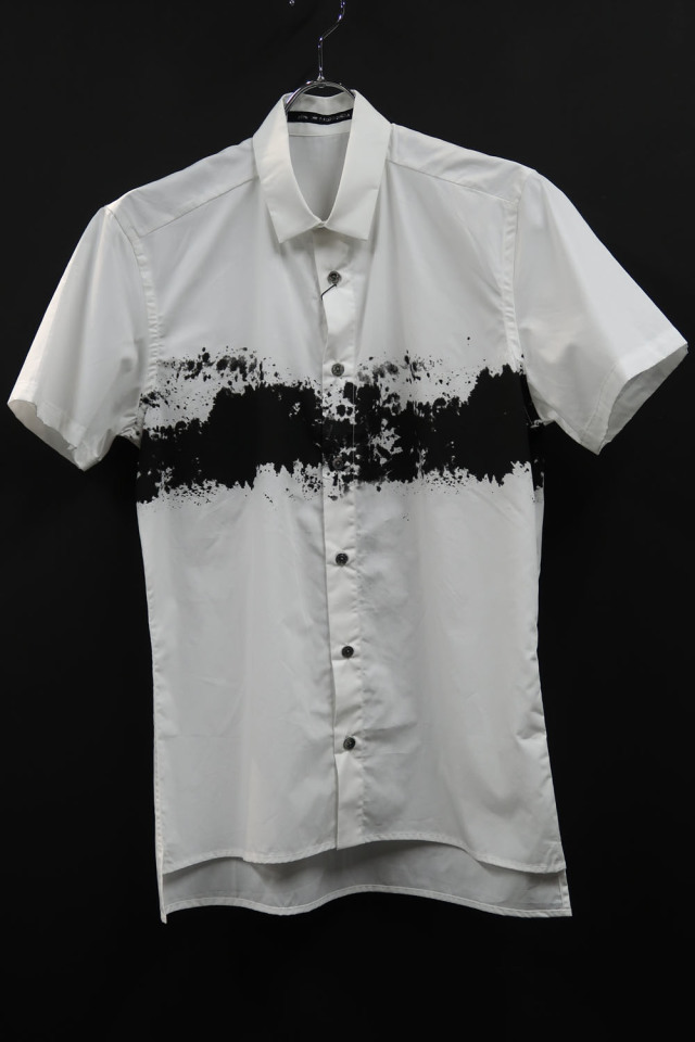 Cotton Broad Short Sleeve Shirt