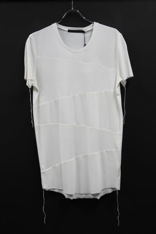Cotton Round-binder neck T-shirt<BRING IT> *2色