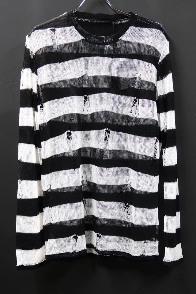Acrylic Border Pullover Cut&Sew