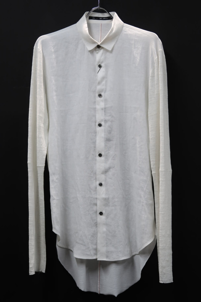 Different Fabrics Shirt *2色