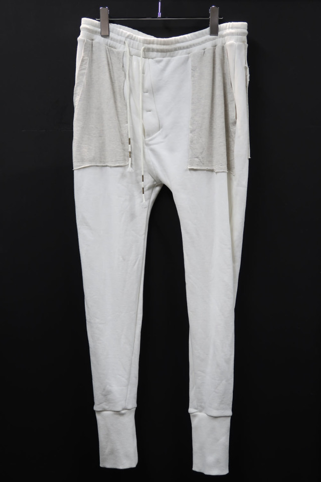 Cotton Fleece-pile Sweat Pants *2色