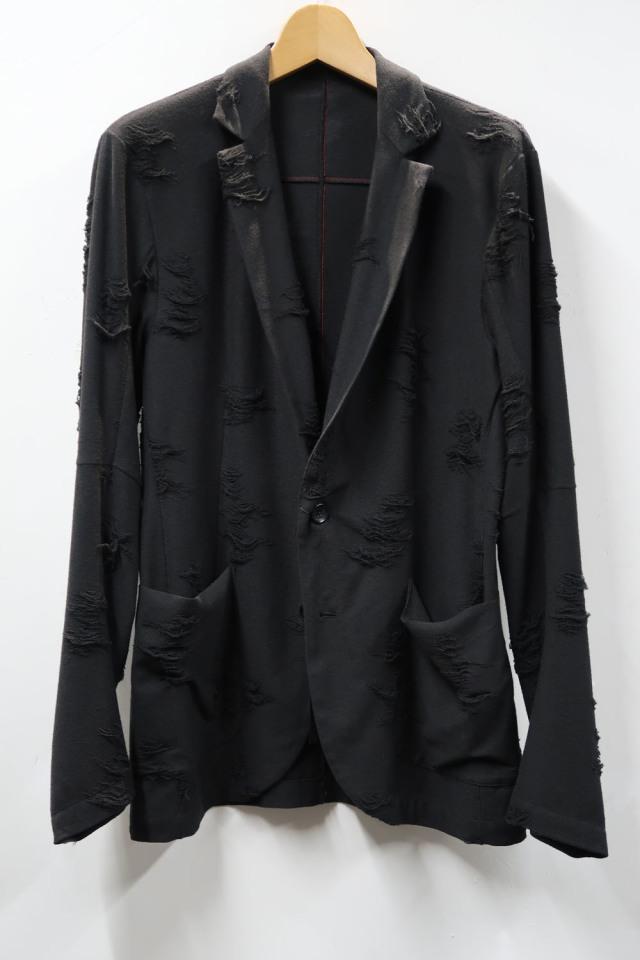 Tear Jacquard T-cloth Jacket Cut&Sew