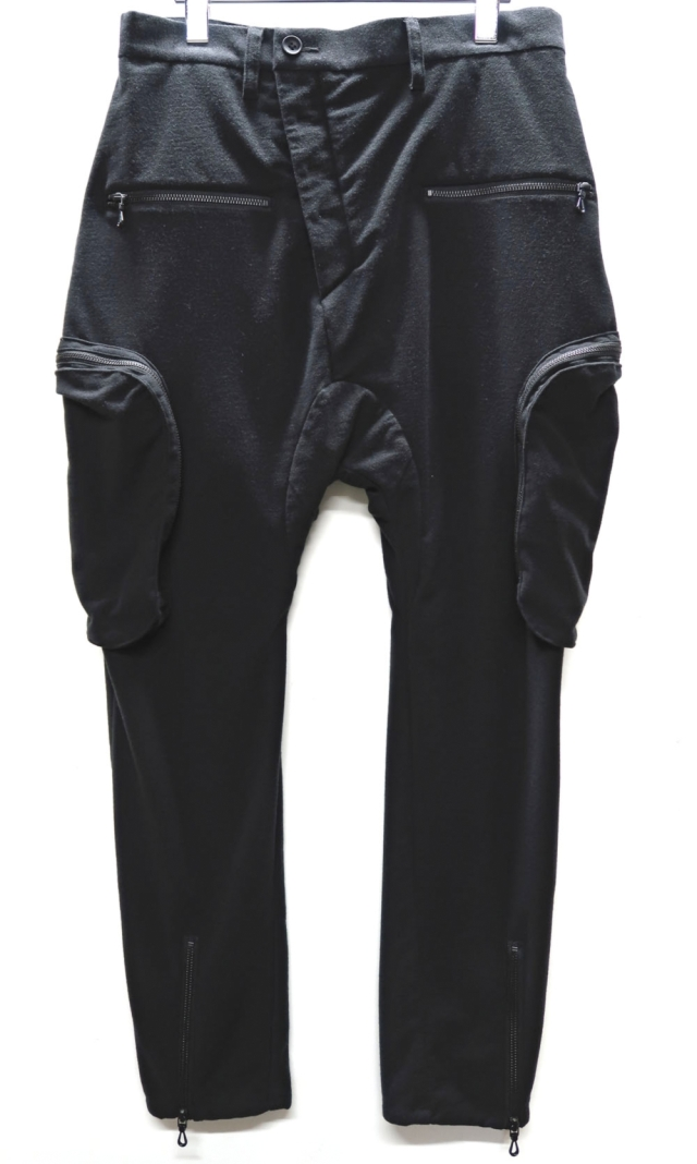 High-gauge Jersey Cargo Pants