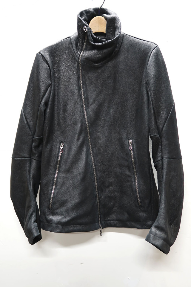 Sheep Suede Stand-upcollar Blouson