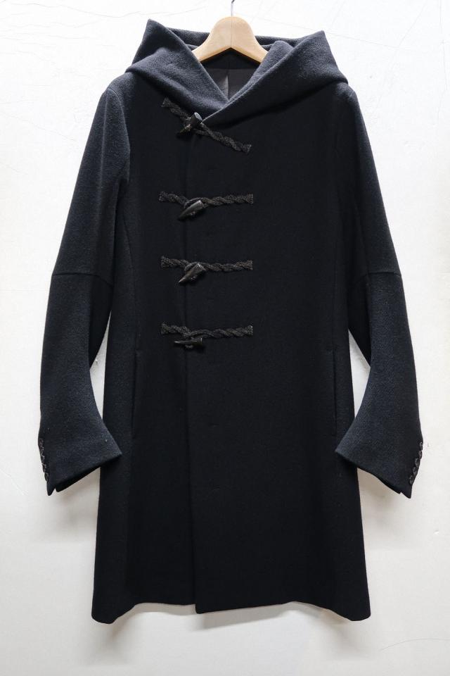Kersey Melton Hooded Duffle Coat