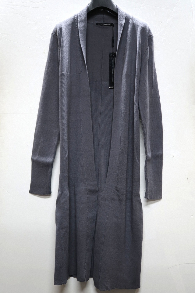 Ramie,Cotton Long Knit Cardigan *2color