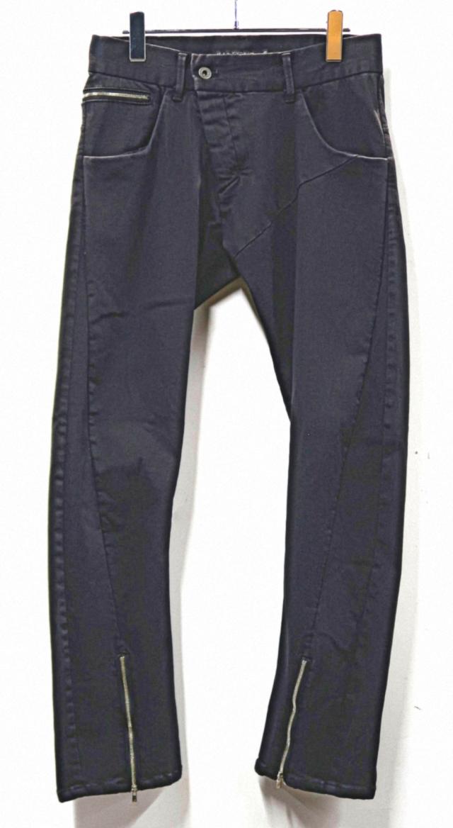 Stretch Black Denim Pants