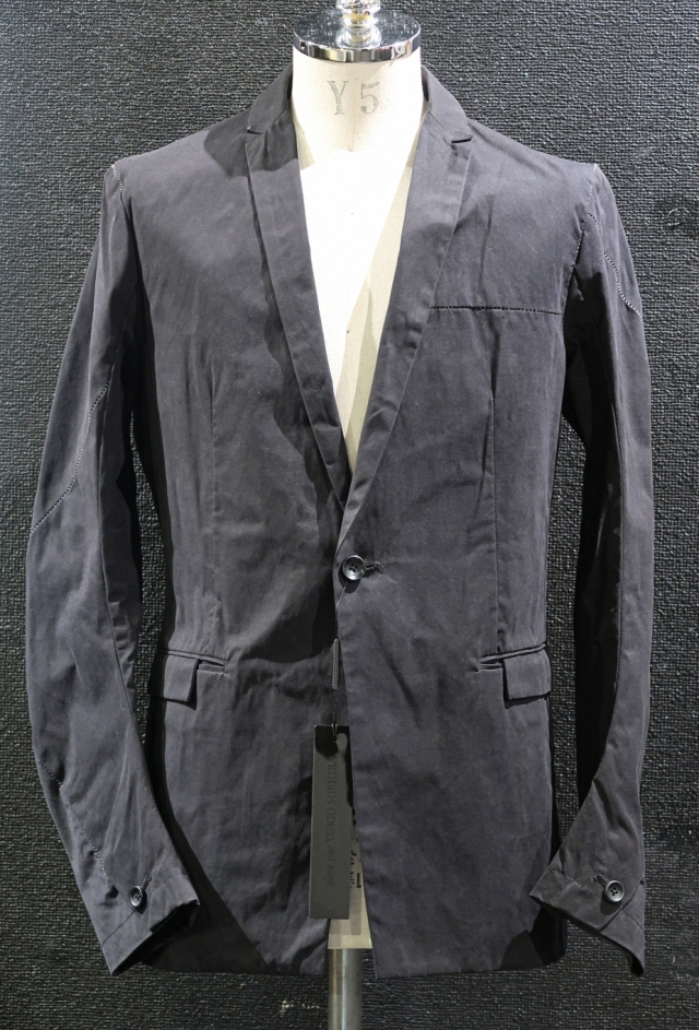 Paraffin Processed Tailored Jacket
