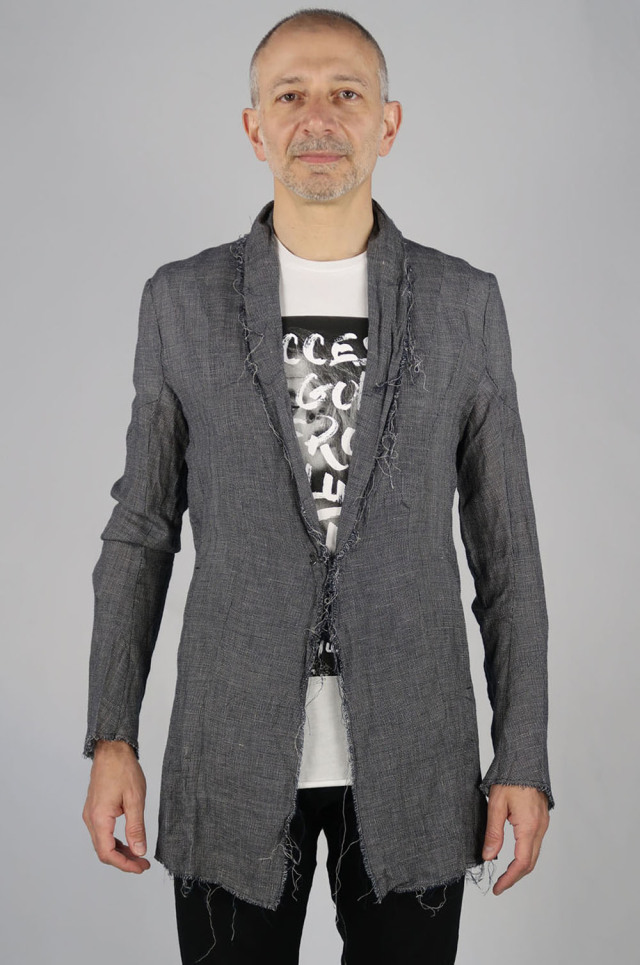 Linen Leno Cloth Cardigan Jacket