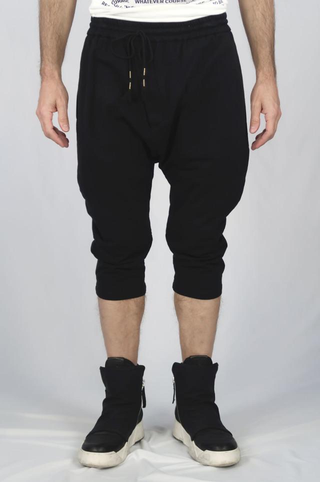 Cotton Half Pants<C# BK>