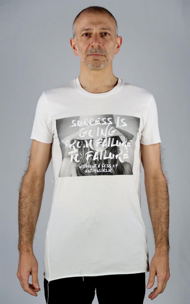 Cotton Round-binder neck T-shirt<Darkest Hour2>