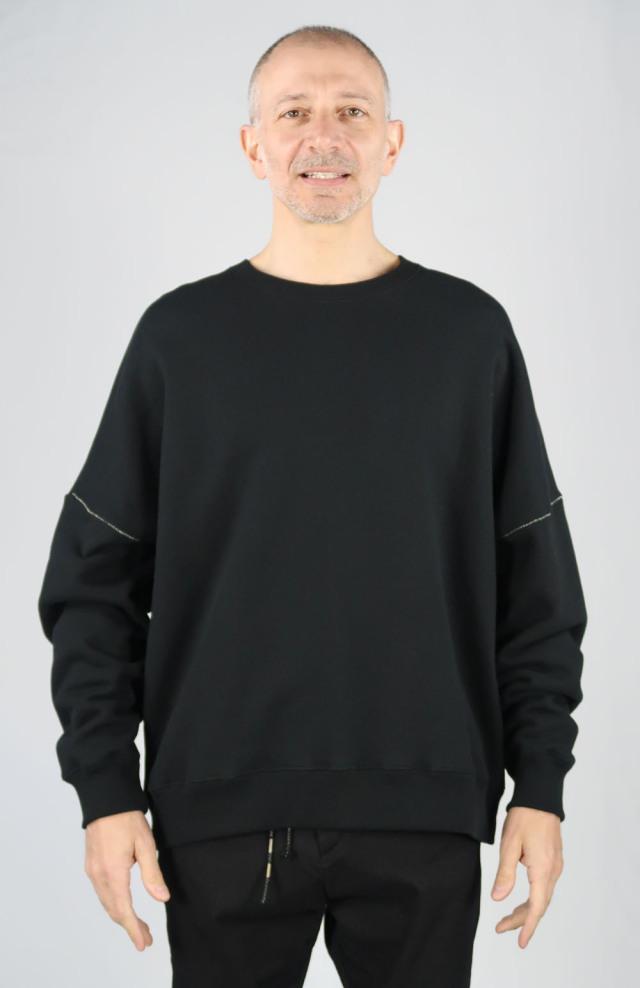 Cotton Big Silhouette Pullover