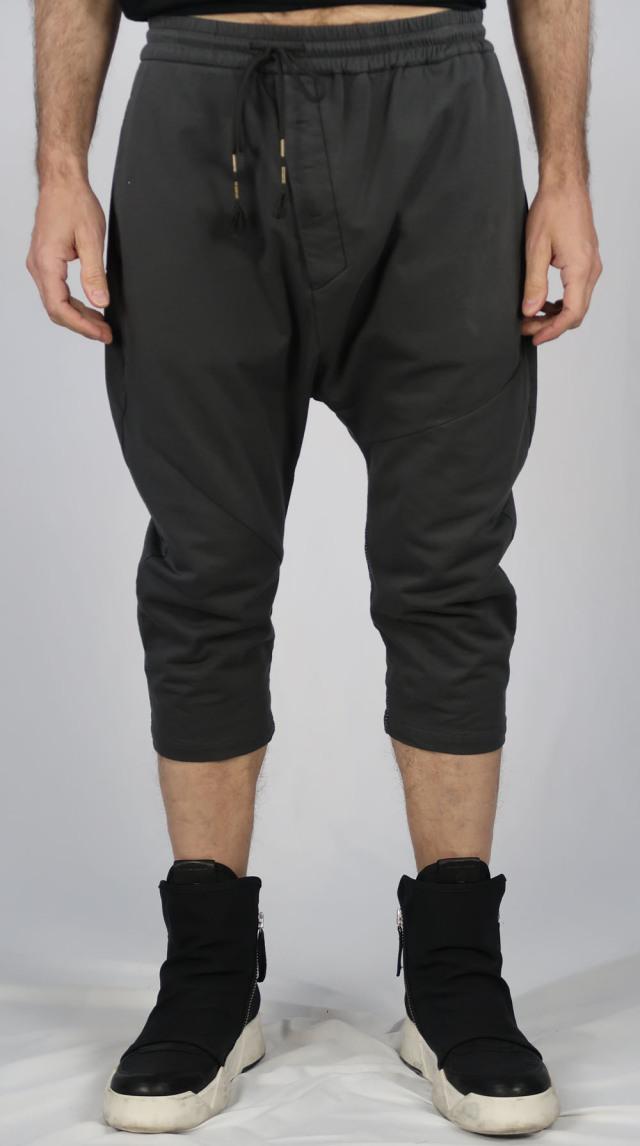 Cotton Half Pants<C# Charcoal>
