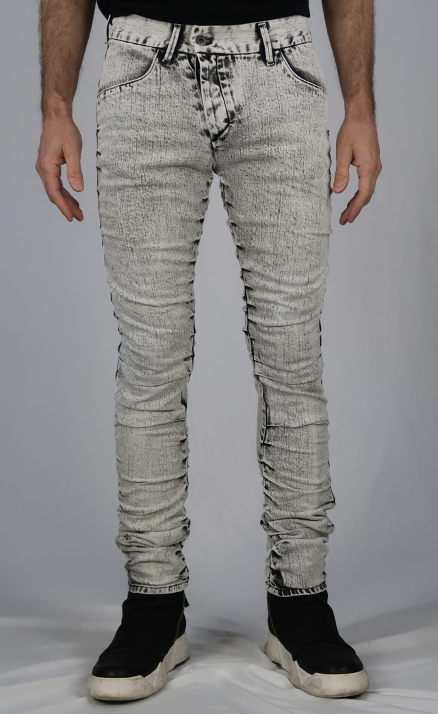 Cotton Stretch High-bleaching Denim