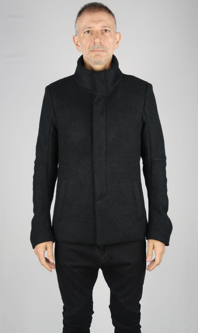 Stand-up Collar Blouson