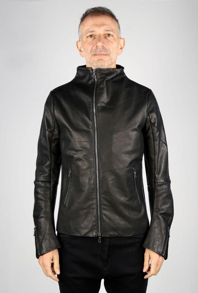 Italian Caw Leather Blouson