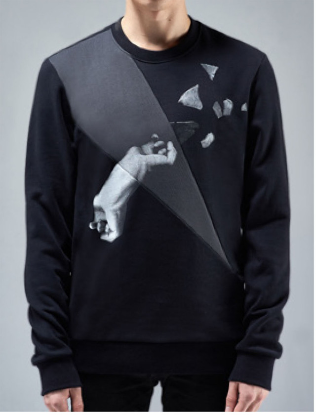Cut&Sew Sweatshirt