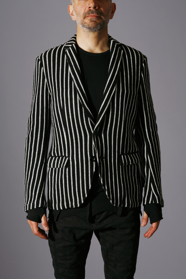 Wool Stripe Jacket