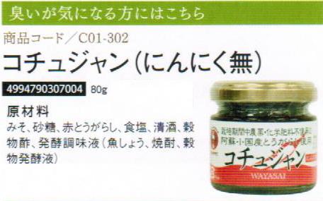 【まとめ買い48個セット】コチュジャン(にんにく無)80g