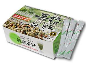【まとめ買い1ケース18個入り】奈美悦子の雑穀青汁32包