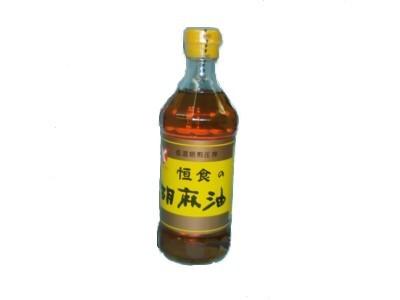 【まとめ買い5個セット】 恒食の胡麻油 450g