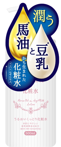 馬油と豆乳の化粧水500ml