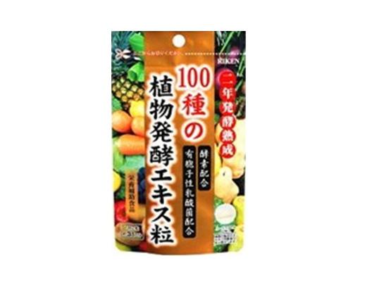 【まとめ買い12個セット】  100種の植物発酵エキス粒 お徳用 154粒