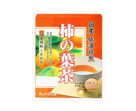 【まとめ買い12個セット】 国産低温焙煎 柿の葉茶