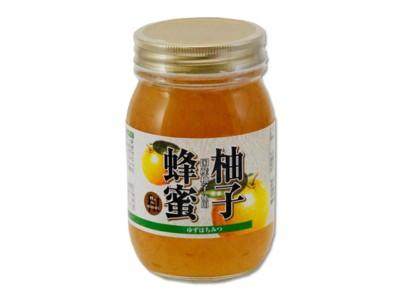【まとめ買い1ケース6個入り】 柚子蜂蜜 520g