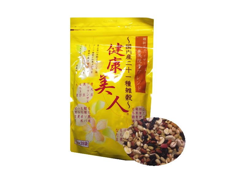 【まとめ買い3個セット】奈美悦子ブレンド国内産二十一種雑穀健康で美人(雑穀米)(雑穀米)