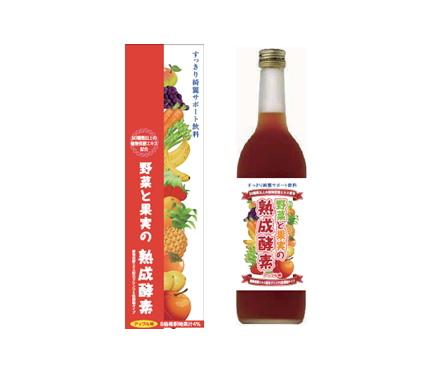 【まとめ買い1ケース8個入り】  野菜と果実の熟成酵素