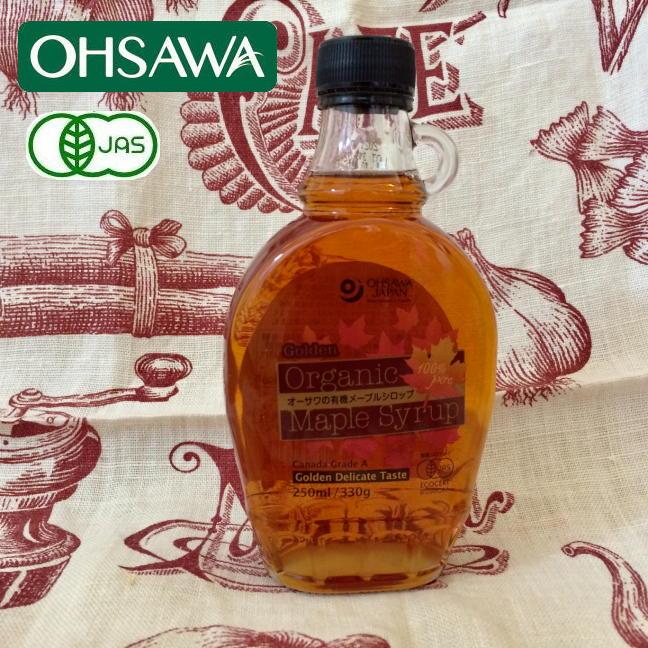 オーサワの有機メープルシロップゴールデン(デリケートテイスト)オーサワジャパン