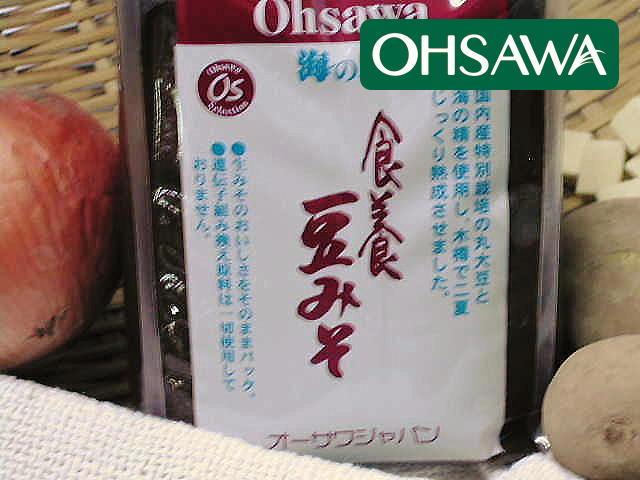 こだわりの国内産原料100%【海の精・食養豆みそ】オーサワジャパン