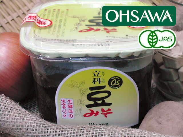 長期熟成ならではの深い味わい【立科豆みそ】オーサワジャパン