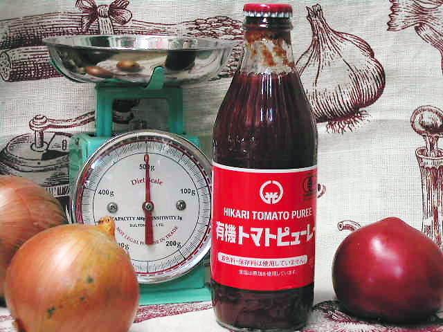 完熟トマトをギュッと濃縮・濃厚な【ヒカリ 有機トマトピューレー】