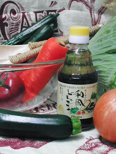 さっぱりとした醤油味【オーサワの和風ドレッシング】