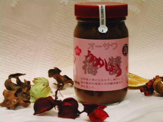 醤油の甘みで、まろやかな練梅【オーサワのうめしょう】