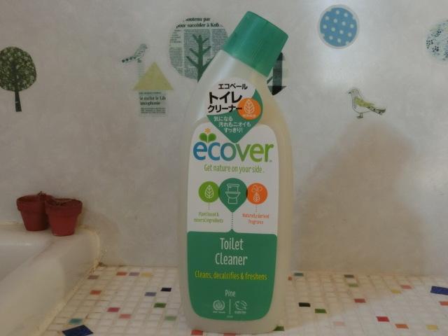 植物&ミネラル由来原料がベース・環境と手肌に優しい【エコベール トイレクリーナー】
