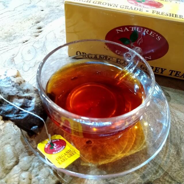 スリランカ産有機茶葉100%【有機栽培アールグレイ(ティーバッグ)】