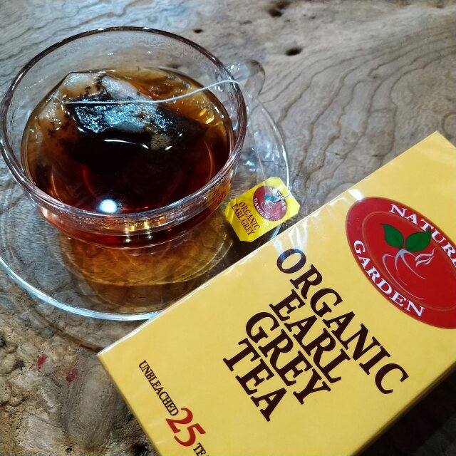 スリランカ産有機茶葉100%【有機栽培アールグレイ(ティーバッグ)】ネオファーム