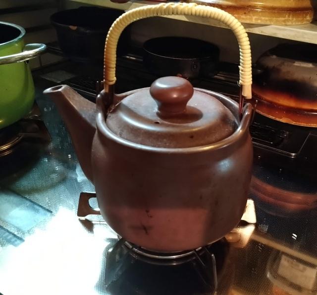 遠赤外線で美味しいお茶に【土瓶】マスタークック
