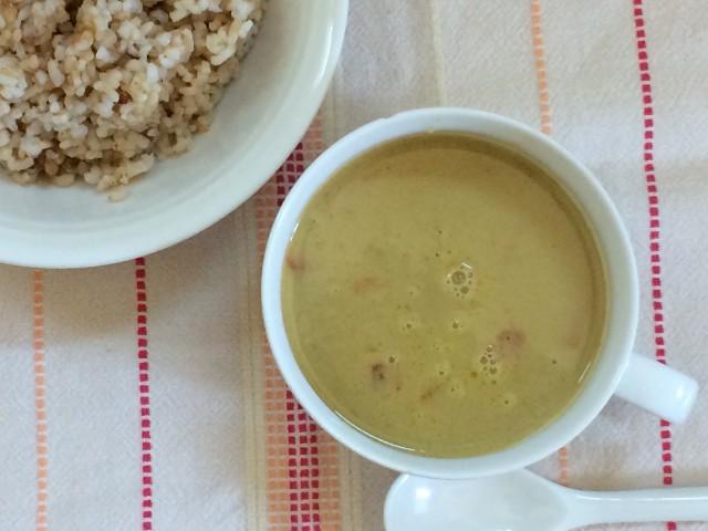 ココナッツミルクとスパイスが効いた辛口・大豆ミートが美味しい【オーサワのベジエスニックカレー】