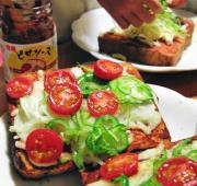 子どもでもカンタンに、美味しいピザトーストが作れます。