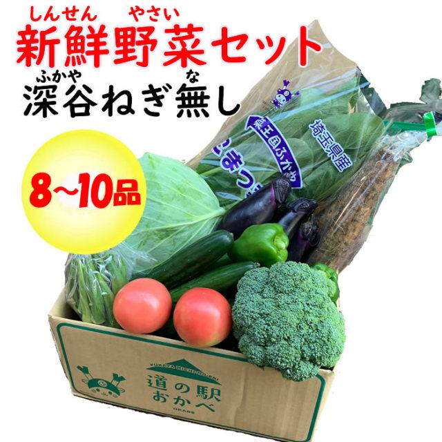 野菜セット8-10 ネギなし