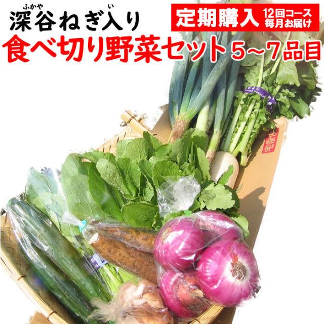 野菜セット5-7定期 12回コース