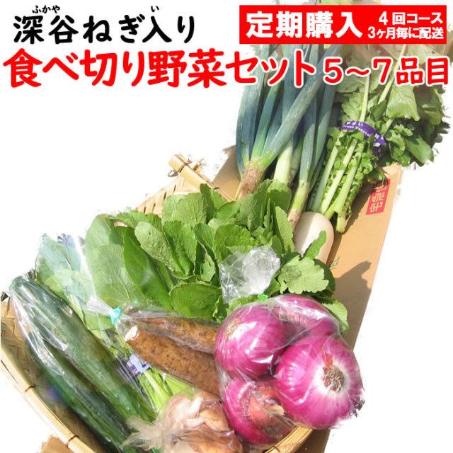 野菜セット5-7定期 4回コース