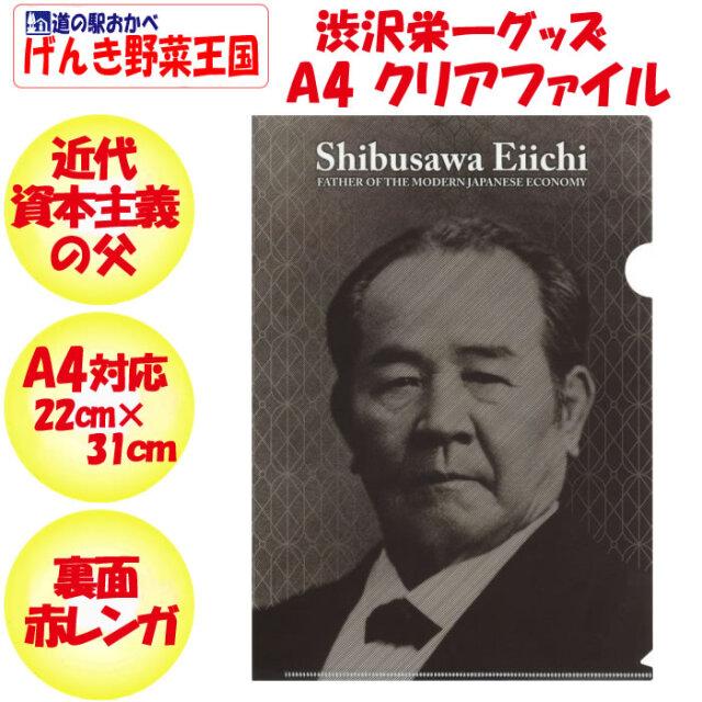 渋沢栄一クリアファイル